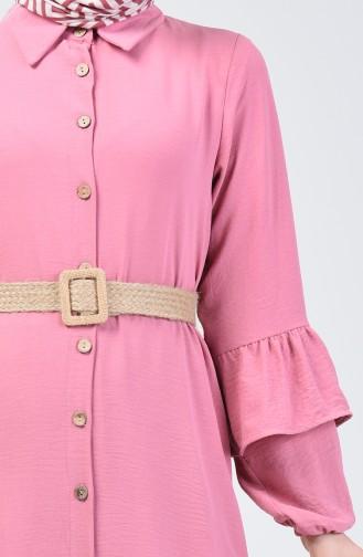 Aerobin Fabric Belt Dress 5667-10 Powder 5667-10