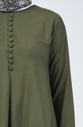 Tunik Pantolon İkili Takım 11000-02 Haki