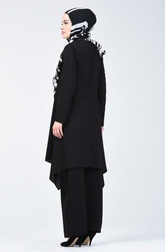 Tunika-Hose Zweier Anzug 11000-06 Schwarz 11000-06