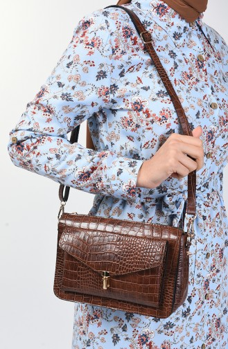 Tobacco Brown Shoulder Bag 51Z-03