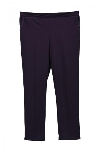 Pantalon Clouté Grande Taille 1060-03 Pourpre 1060-03