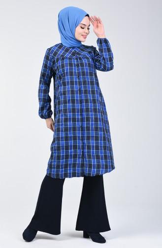 Saxon blue Tunic 1088-01