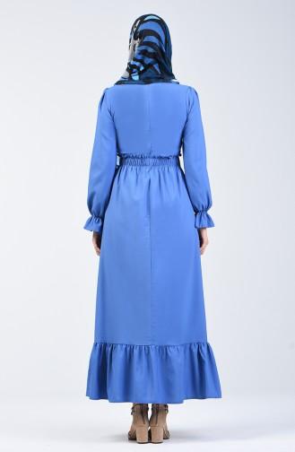 فستان نيلي 4532-04
