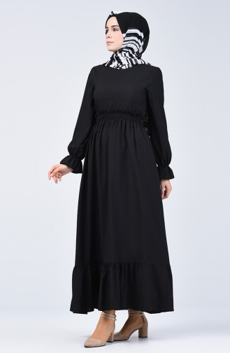 Black İslamitische Jurk 4532-08