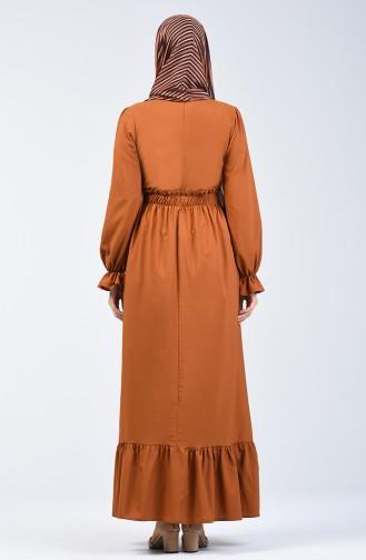 فستان كراميلي 4532-01