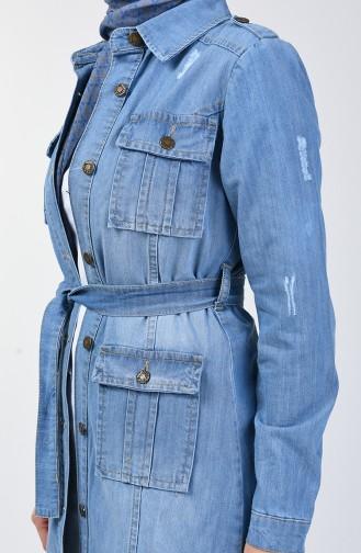 Jeans Blue Jacket 6083-01