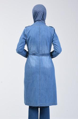 كيب أزرق جينز 6077-02