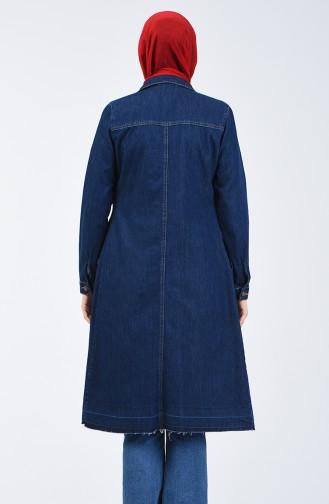 Navy Blue Mantel 6081-03