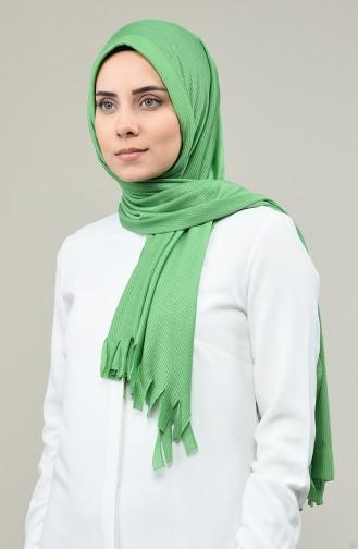 Pratik Simli Viskon Şal 7007-16 Yeşil
