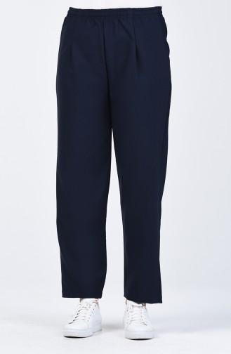 Pantalon Taille élastique 5272-07 Bleu Marine 5272-07