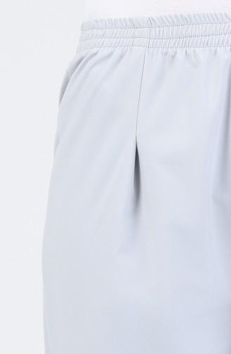 Elastic waist Pants 5272-08 Gray 5272-08