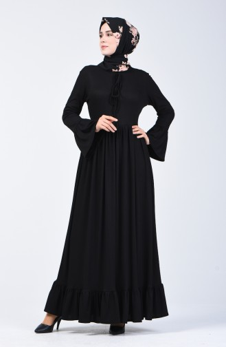 Robe Taille Froncée 81780-03 Noir 81780-03