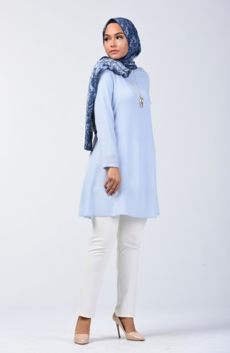 Basic Tunic 0118-03 Baby Blue 0118-03