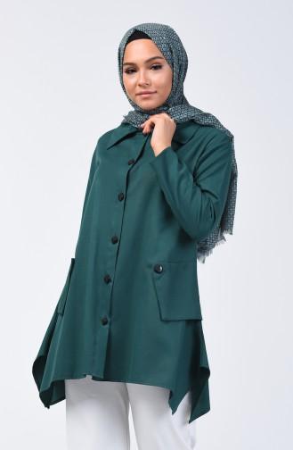 Tunique Vert emeraude 3135-04
