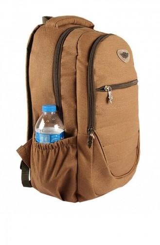 Renkli Back Pack 5054 Bej