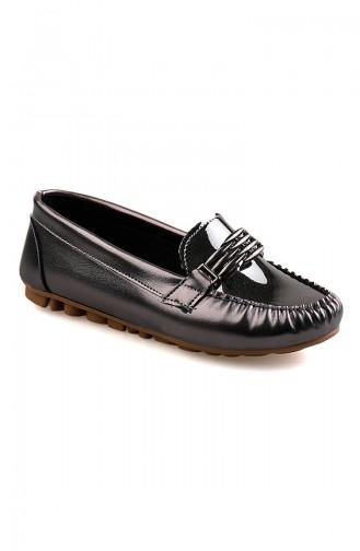 Bayan Ayakkabı 0148-05 Platin Rugan