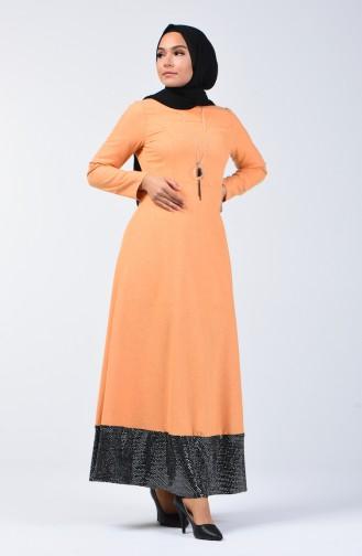 Payet Garnili Elbise 5125-04 Hardal 5125-04