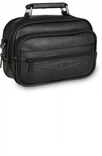 Renkli Portfolio Hand Bag 3665 Siyah