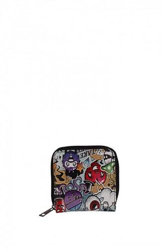 Zigga 00957 Patterned Woman Faux Leather Wallet 1247589004749