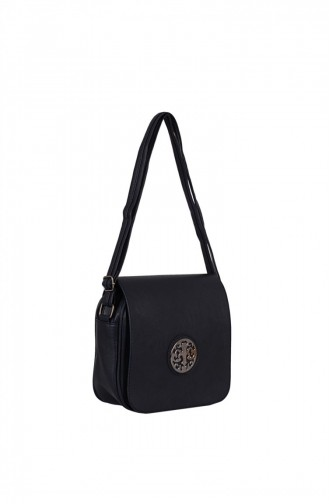 Zigga 02649 Navy Blue Woman Faux Leather Shoulder Bag 1247589004166