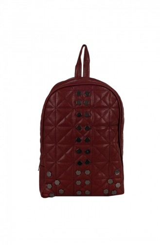 Zigga 02657 Bordo Woman Faux Leather Backpack 1247589004196