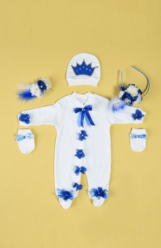 Blue Baby & Kid Suit 2