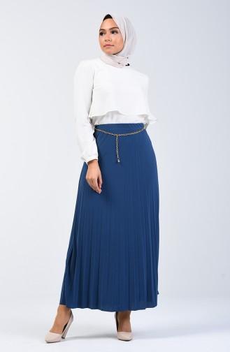 Sandy Pleated Skirt 1010A-05 Petrol 1010A-05