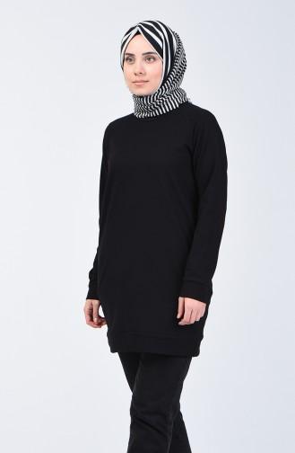 قميص رياضي أسود 3151-05