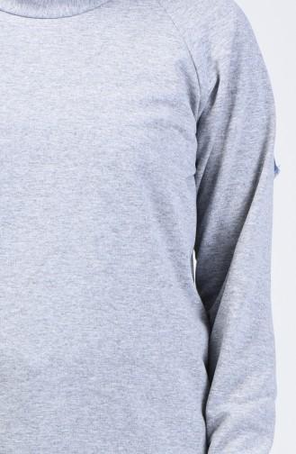 قميص رياضي رمادي 3151-10