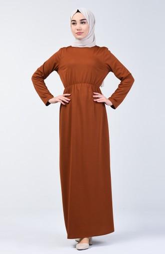 Elastic Waist Dress 2025-05 Tobacco 2025-05