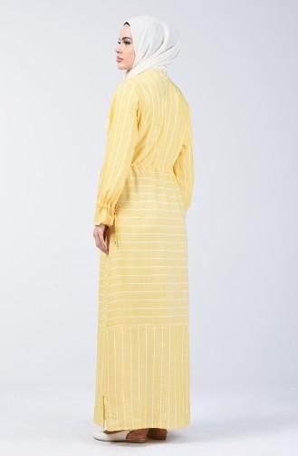Yellow İslamitische Jurk 4500-06