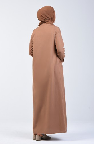 Camel İslamitische Jurk 3144-06
