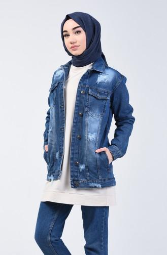 Jeans Blue Jacket 2000-01