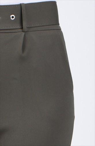 Hose mit Gürtel 0909-05 Khaki 0909-05