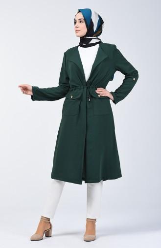 Aerobin Fabric Summer Cap 0078-01 Emerald Green 0078-01