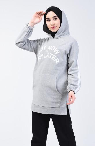 Gray Sweat shirt 1300-01