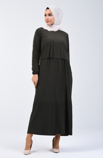 Khaki Dress 2054-02