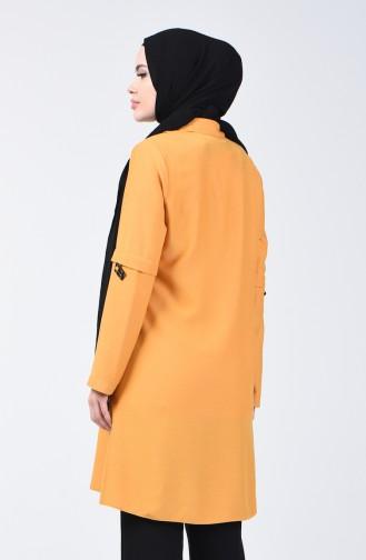 Buttoned Tunic 1312-04 Mustard 1312-04