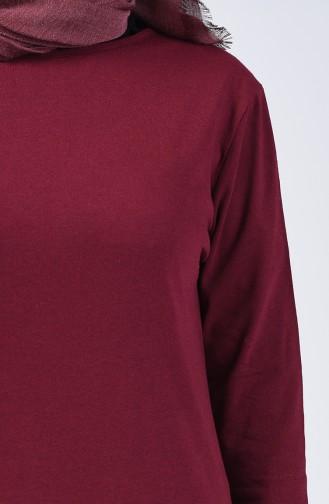 Basic Tunik 5004-02 Bordo