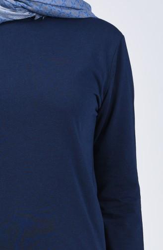 Basic Tunic 5004-04 Navy Blue 5004-04