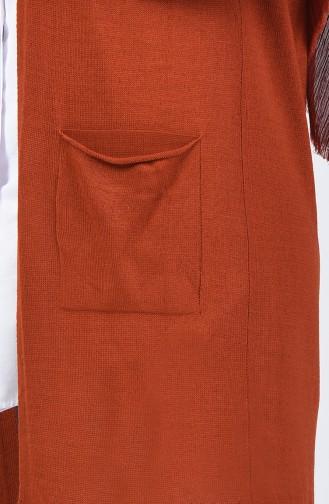 Tobacco Brown Vest 4121-24