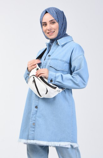 الجاكيت أزرق فاتح 6336-03