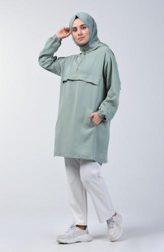 تونيك أخضر 6307-07