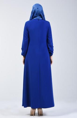 Kolu Lastikli A Pile Elbise 0120-05 Saks