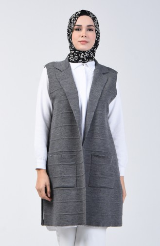 Anthracite Gilet 4205-02