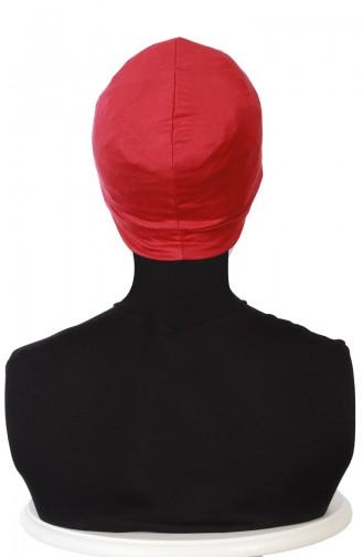 Combed Bonnet B0037-03 Claret Red 0037-03