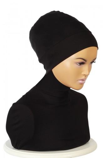 Gekämmter Bonnet B0037-06 Schwarz 0037-06