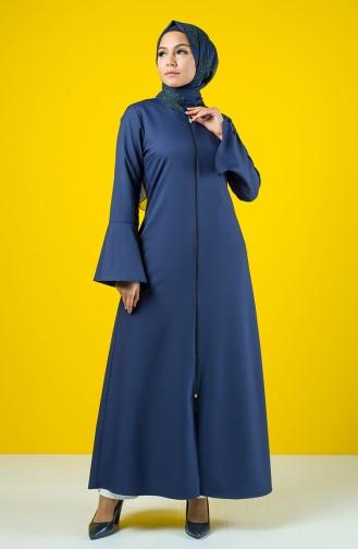 Navy Blue Abaya 2139-03