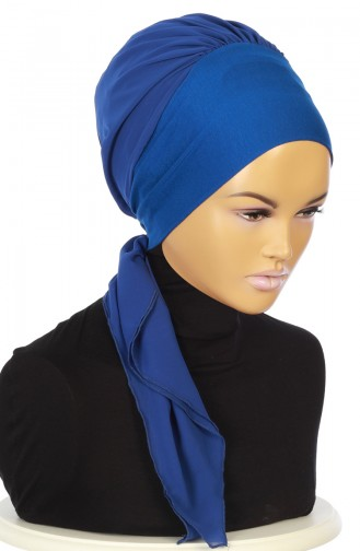 Practical Turban HT0065-4-16 Saxe 0065-4-16