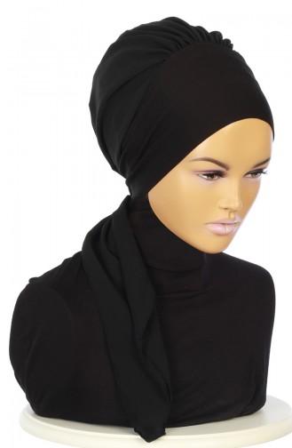 Practical Turban HT0065-6-14 Black 0065-6-14